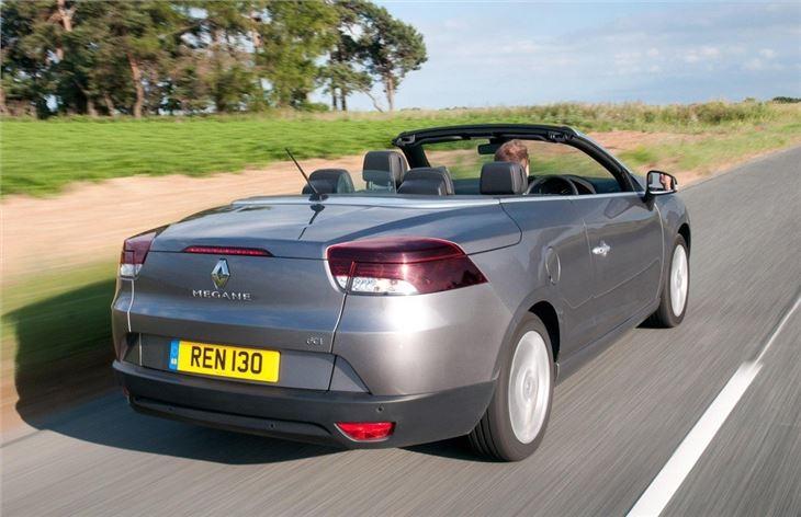 renault megane coupe cabriolet 2010 car review honest john. Black Bedroom Furniture Sets. Home Design Ideas