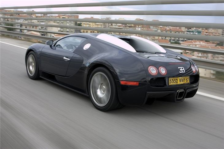 bugatti veyron 2005 car review honest john. Black Bedroom Furniture Sets. Home Design Ideas