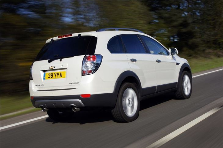 Chevrolet Captiva 2007 Car Review Honest John