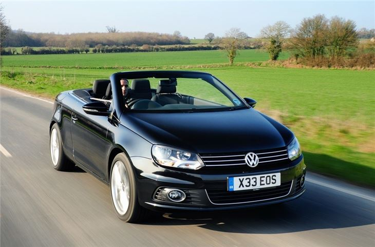 volkswagen eos 2006 car review honest john. Black Bedroom Furniture Sets. Home Design Ideas