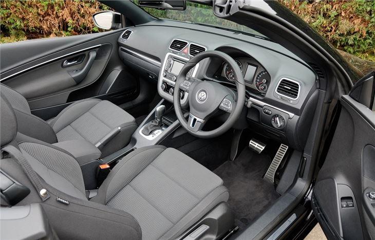 volkswagen eos 2006 car review honest john. Black Bedroom Furniture Sets. Home Design Ideas