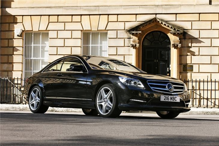 Mercedes benz cl class w216 2007 car review honest john for Mercedes benz model history