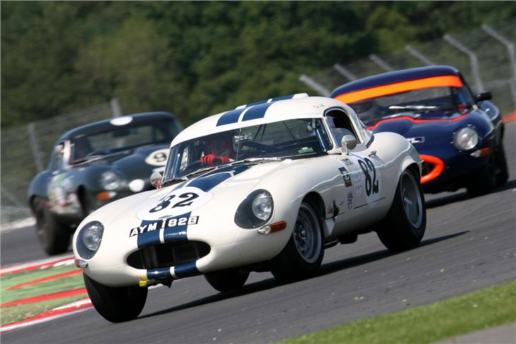 Jaguar E-Types to Race Again at Silverstone Classic ...