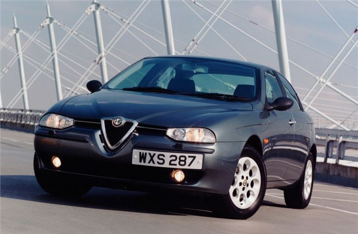 alfa romeo 156 1998 car review honest john. Black Bedroom Furniture Sets. Home Design Ideas