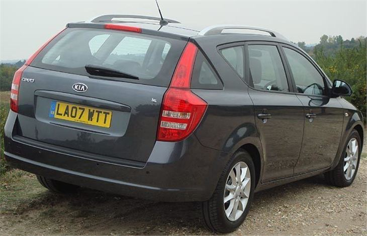 kia cee 39 d sw 2007 road test road tests honest john. Black Bedroom Furniture Sets. Home Design Ideas