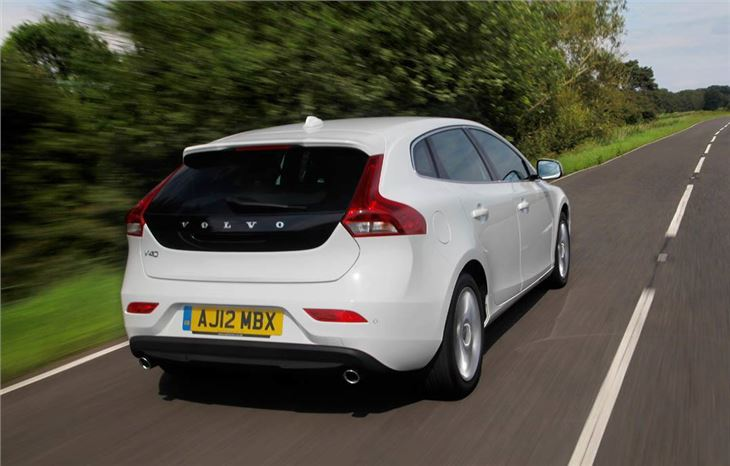 Volvo V40 D2 2012 Road Test Road Tests Honest John