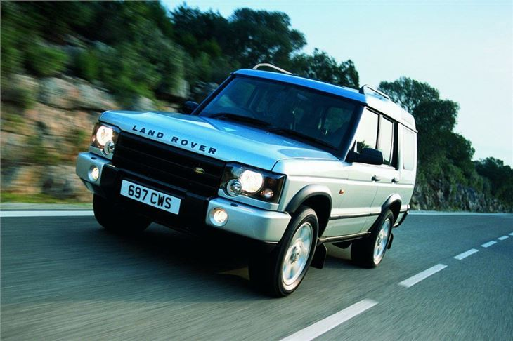 2002 land rover discovery off road