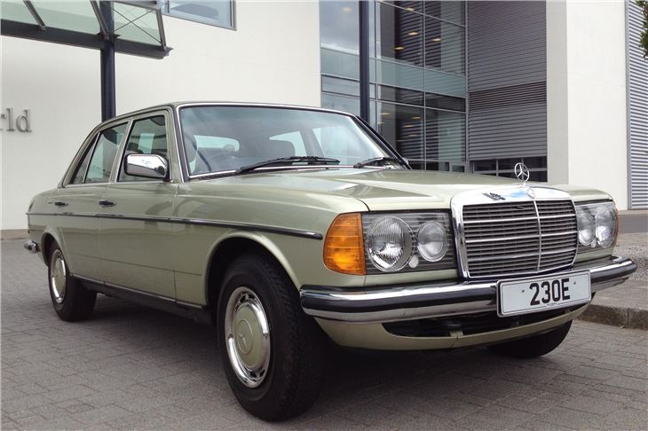 Mercedes benz w123 230e 1986 road test road tests for Mercedes benz 230e