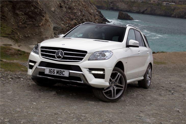 Mercedes benz ml class w166 2012 car review honest john for Mercedes benz model history