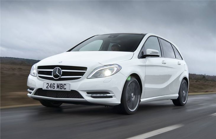 Mercedes benz b class 2012 car review honest john for Mercedes benz b class review