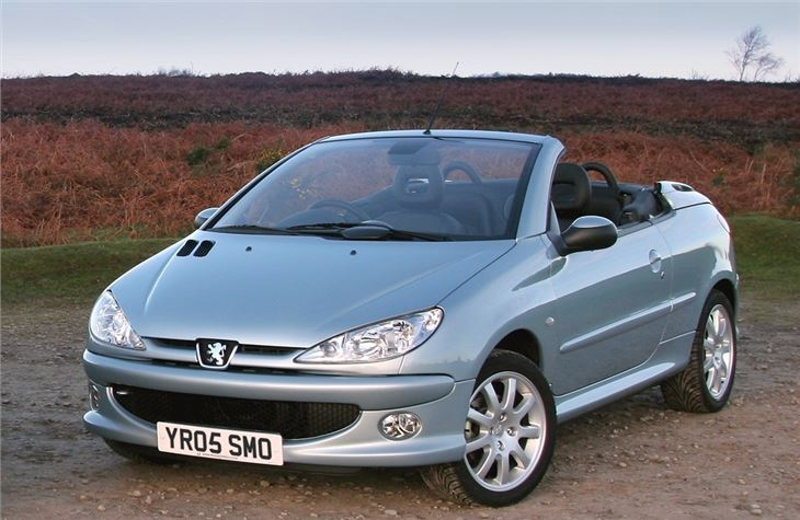 peugeot 206 cc 2000 car review honest john. Black Bedroom Furniture Sets. Home Design Ideas
