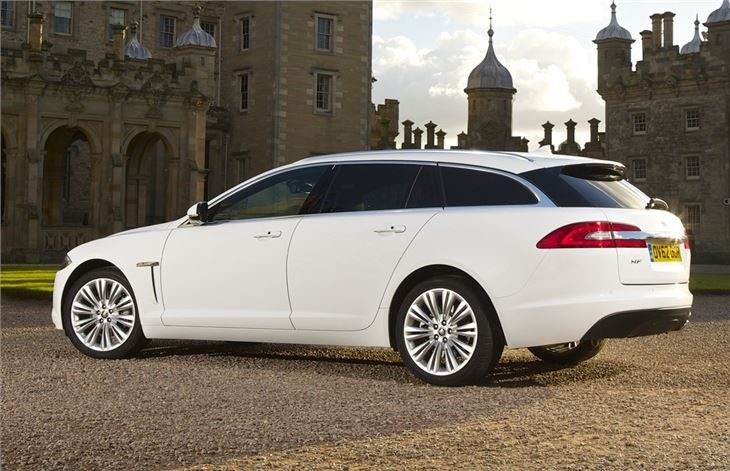 jaguar xf sportbrake 2012 car review honest john. Black Bedroom Furniture Sets. Home Design Ideas