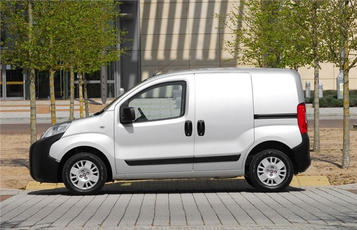 Fiat says: The dimensions of a car, the volume of a van. www.fiatprofessional.co.uk