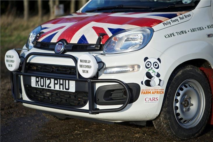 Cape Town To London Record Attempt In A Fiat Panda Part