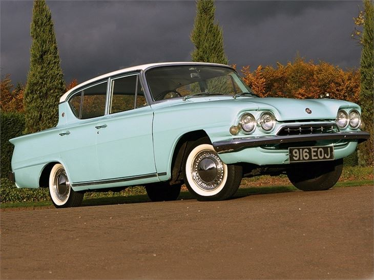 Ford Consul Classic And Capri Classic Car Review