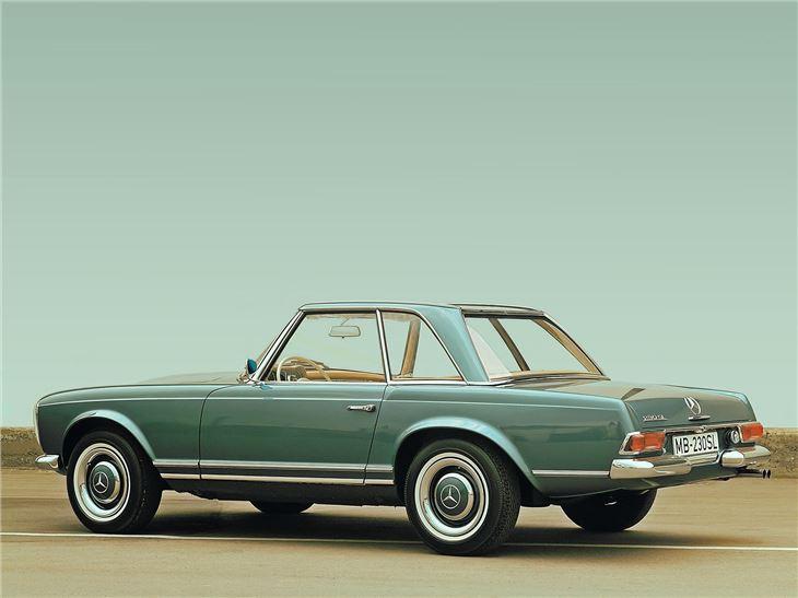 Mercedes benz 230 280sl classic car review honest john for Mercedes benz 230 coupe