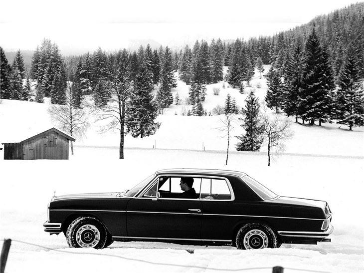 mercedes benz e class w114 w115 classic car review. Black Bedroom Furniture Sets. Home Design Ideas