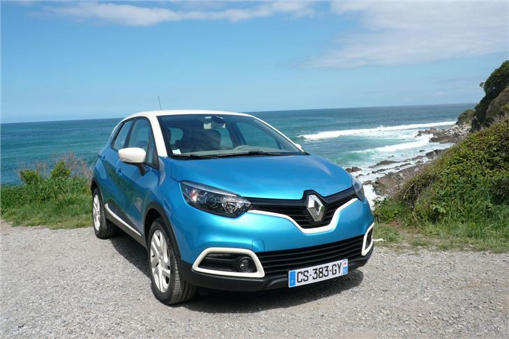 renault captur 2013 road test road tests honest john. Black Bedroom Furniture Sets. Home Design Ideas