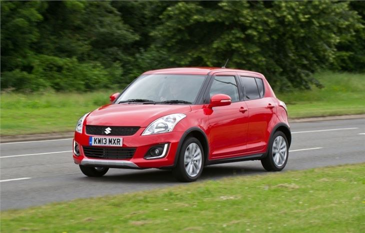 suzuki swift 4x4 road test road tests honest john. Black Bedroom Furniture Sets. Home Design Ideas