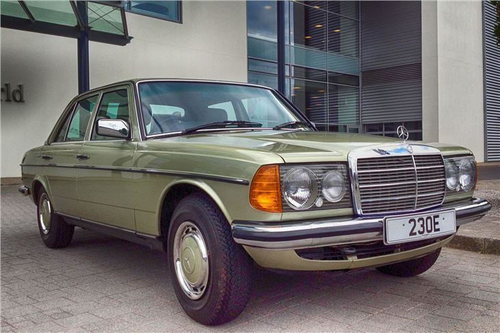 E Class W123 on mercedes benz w123