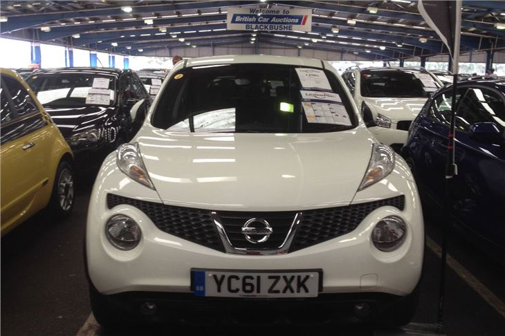 Today S Car Auction Prices See High Mileages Hammered