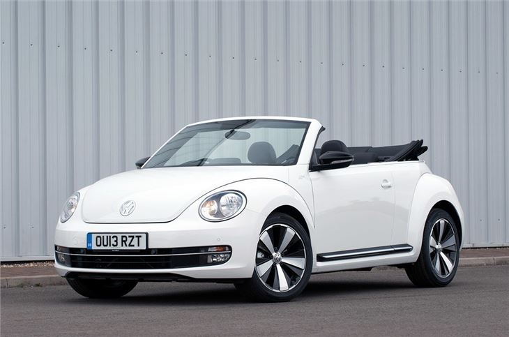 volkswagen beetle cabriolet 2013 car review honest john. Black Bedroom Furniture Sets. Home Design Ideas