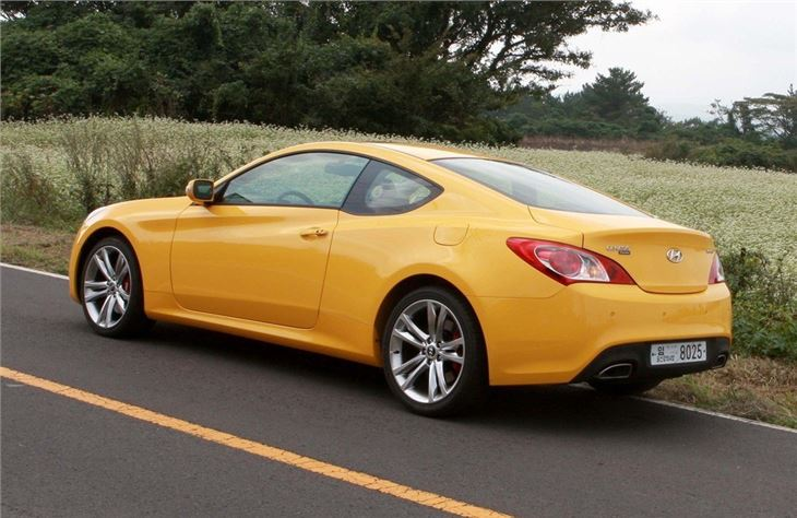 Hyundai Genesis Coupe 2009 Car Review Honest John