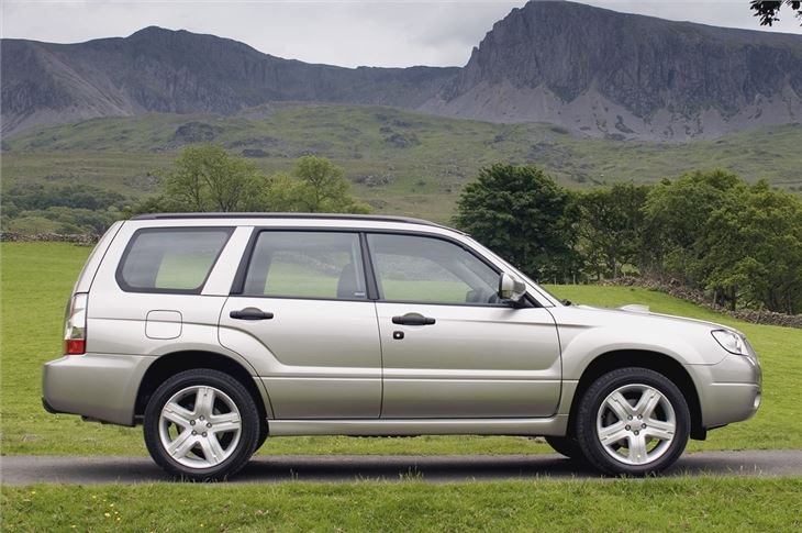 Subaru Forester 2002 Car Review Honest John
