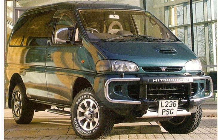 mitsubishi delica classic car review honest john. Black Bedroom Furniture Sets. Home Design Ideas