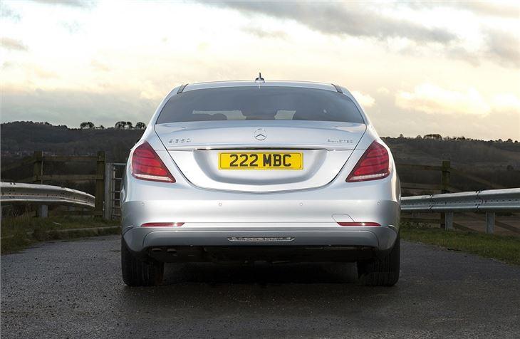 Mercedes benz s class w222 2014 car review honest john for Mercedes benz model history