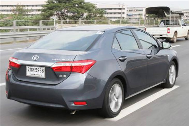Toyota Corolla Altis 2014 Car Review Honest John