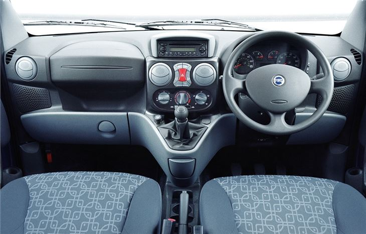 Ford Focus Interior >> FIAT Doblo 2001 - Car Review | Honest John