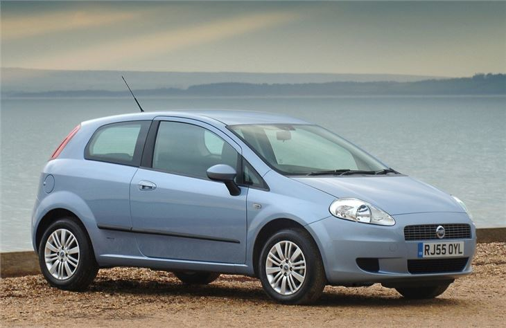 fiat grande punto 2006 car review honest john. Black Bedroom Furniture Sets. Home Design Ideas