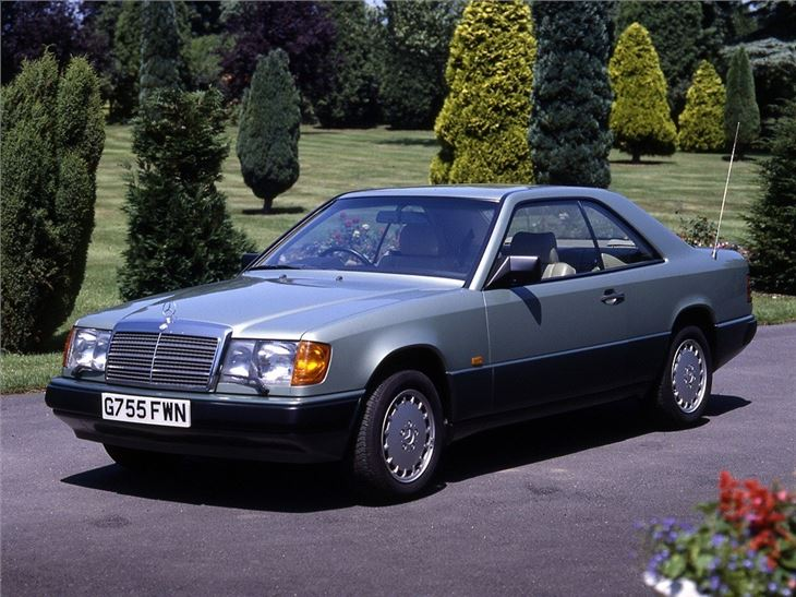 Mercedes benz e class coupe and convertible c124 a124 classic car review honest john