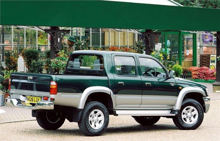 Toyota Hilux 2000 Car Review Honest John