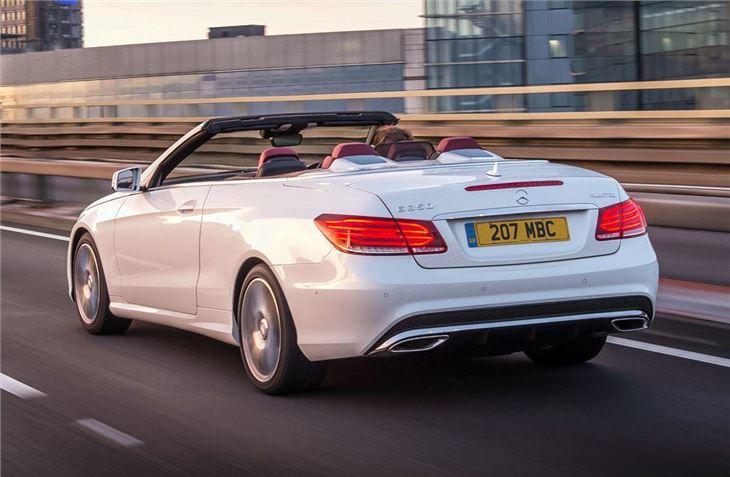 Mercedes benz e class cabriolet 2010 car review honest john - Classe e coupe cabriolet ...