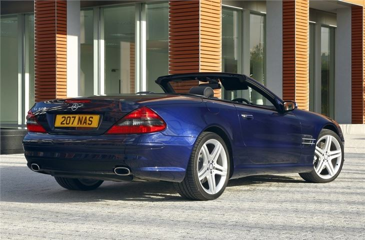 Mercedes benz sl r230 2002 car review honest john for Mercedes benz model history