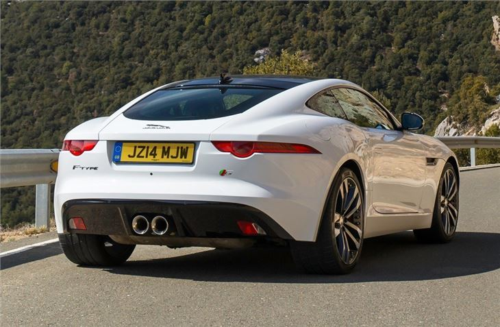 jaguar f type coupe 2014 car review honest john. Black Bedroom Furniture Sets. Home Design Ideas