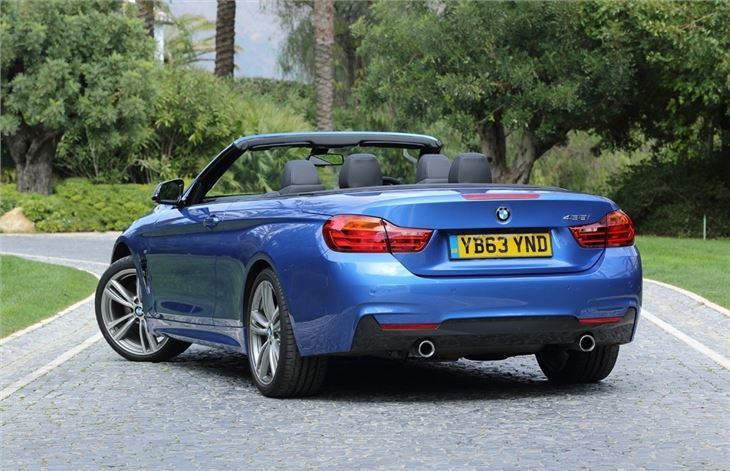 BMW 4 Series F33 Convertible 2014 - Car Review