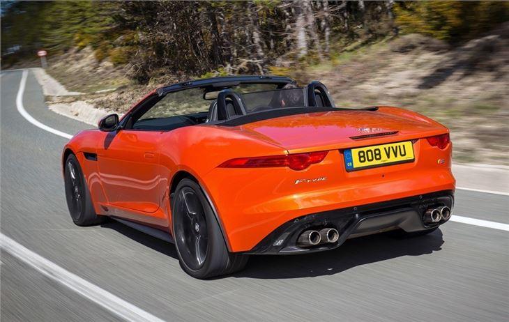 Jaguar F-Type Convertible 2013 - Car Review | Honest John