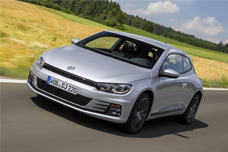 volkswagen scirocco 2014 road test road tests honest john. Black Bedroom Furniture Sets. Home Design Ideas