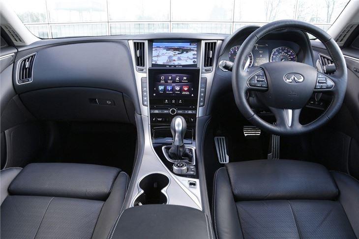 Infiniti Q50 2013 - Car Review - Interior | Honest John