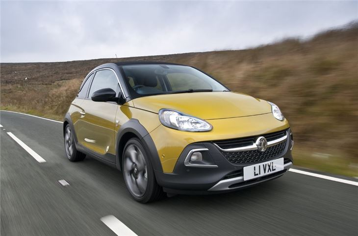 Vauxhall Adam Rocks Air 2014 Road Test Road Tests