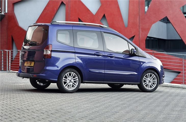 Ford Transit Courier Kombi 2014 Van Review Honest John