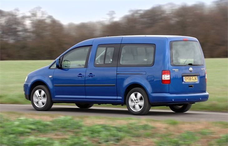 volkswagen caddy maxi life 2008 van review honest john. Black Bedroom Furniture Sets. Home Design Ideas