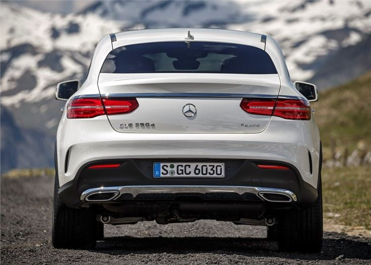 Mercedes Benz Gle Coupe 350d 4matic 2015 Road Test Road