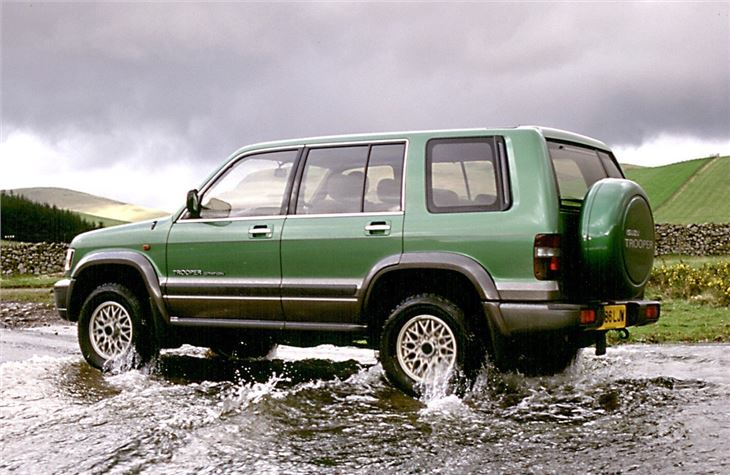 Car Seat Check >> Isuzu Trooper 1998 - Car Review | Honest John