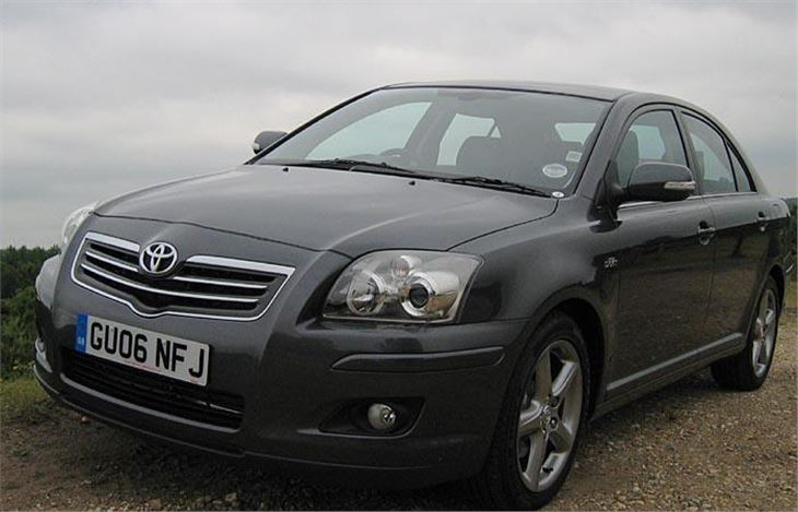 toyota avensis 150 and 180 d 4d 2006 road test road tests honest john. Black Bedroom Furniture Sets. Home Design Ideas