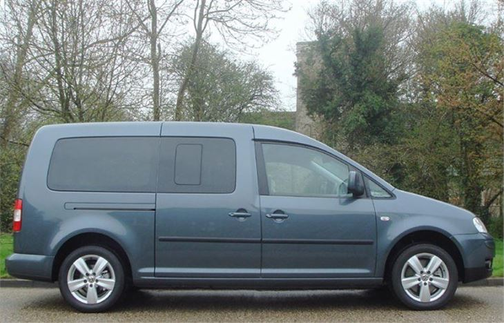 volkswagen caddy maxi life 7 seater 2008 road test road. Black Bedroom Furniture Sets. Home Design Ideas
