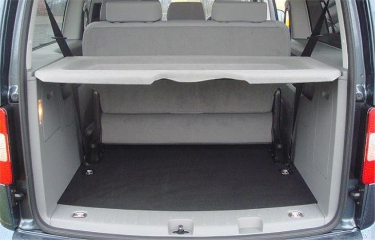 9 Seater Car >> Volkswagen Caddy Maxi Life 7-seater 2008 Road Test | Road ...